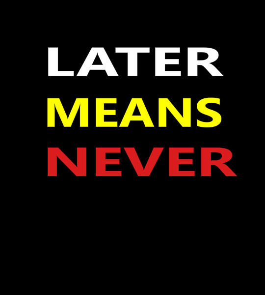 later-means-never-tshirt-designba5a8903b3dca27f8532d27cc1d1031c